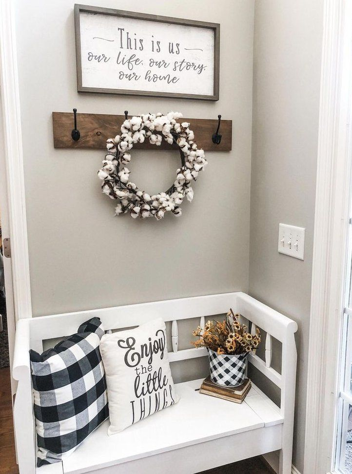 The Best Cheap Decorating Trick There Is Entry Way Decor