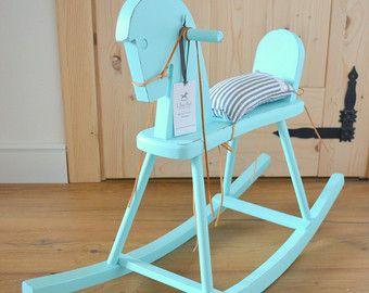 Pleasant Caballo Balancin Madera Por Ihaha En Etsy Baby Horses Ocoug Best Dining Table And Chair Ideas Images Ocougorg