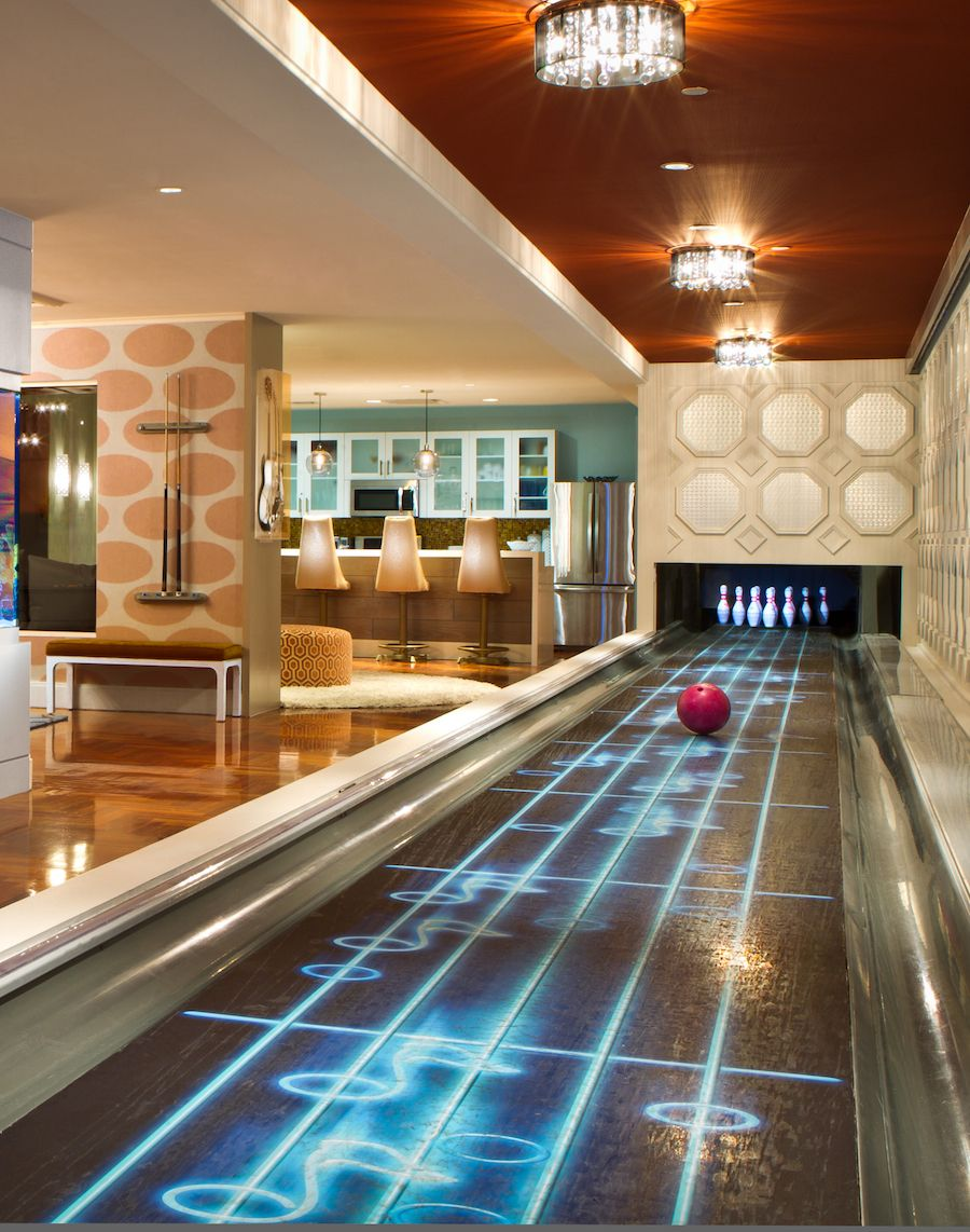 Hard Rock Hotel Penthouse Suites, Las Vegas. Bowling, seriously ...