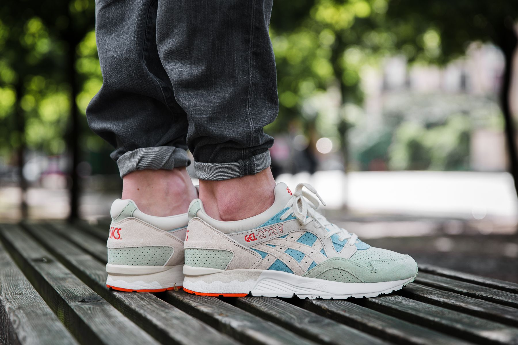 huge discount acc69 e1580 asics gel lyte 5 tropical green recipe