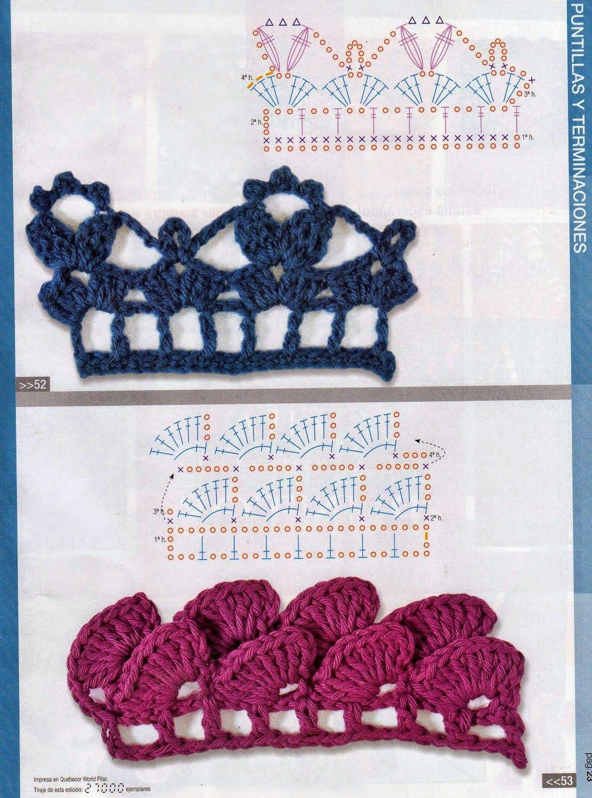 Guía Práctica de puntos No. 7 - Revistas de crochet y tejidos gratis ...