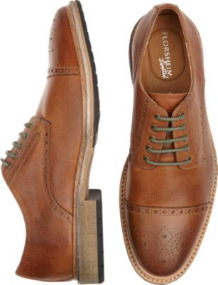 f0667293179b Florsheim Tan Oxford Lace-Ups - 50% off Florsheim Shoes
