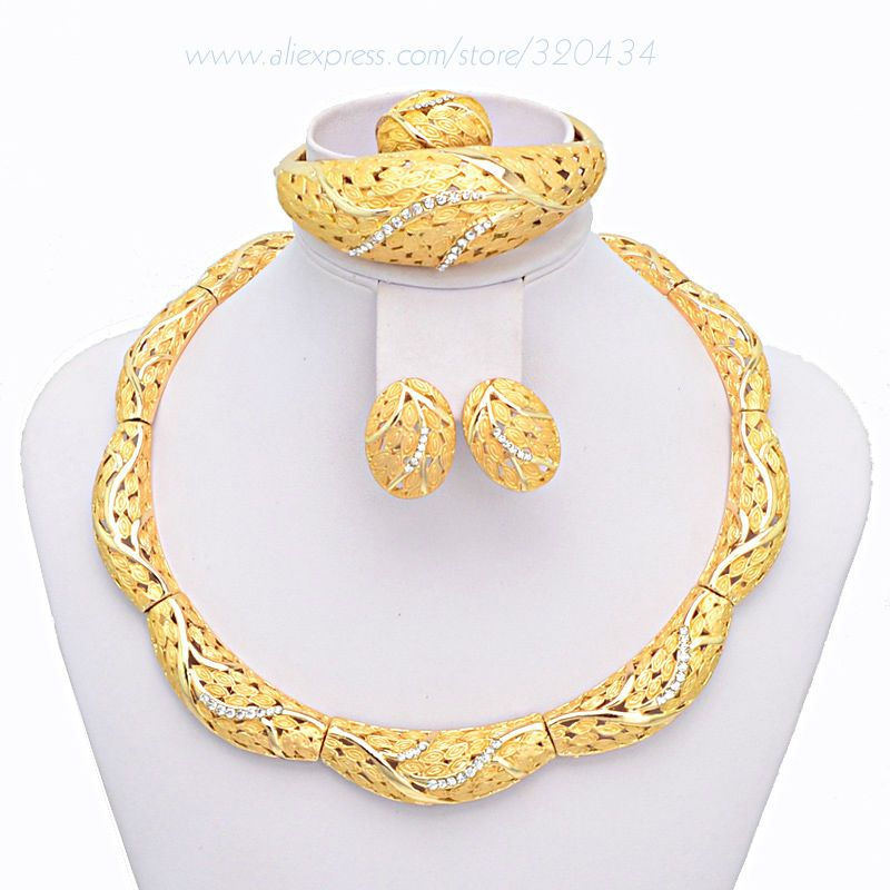 Find More Jewelry Sets Information about Big Heavy Gold Filled