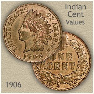 1906 Indian Head Penny Value | Discover Their Worth | Old