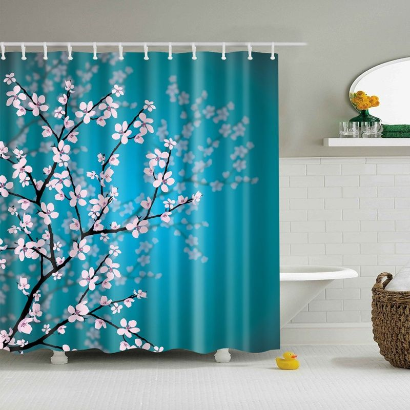 Find More Shower Curtains Information About Shower Curtain Blossom
