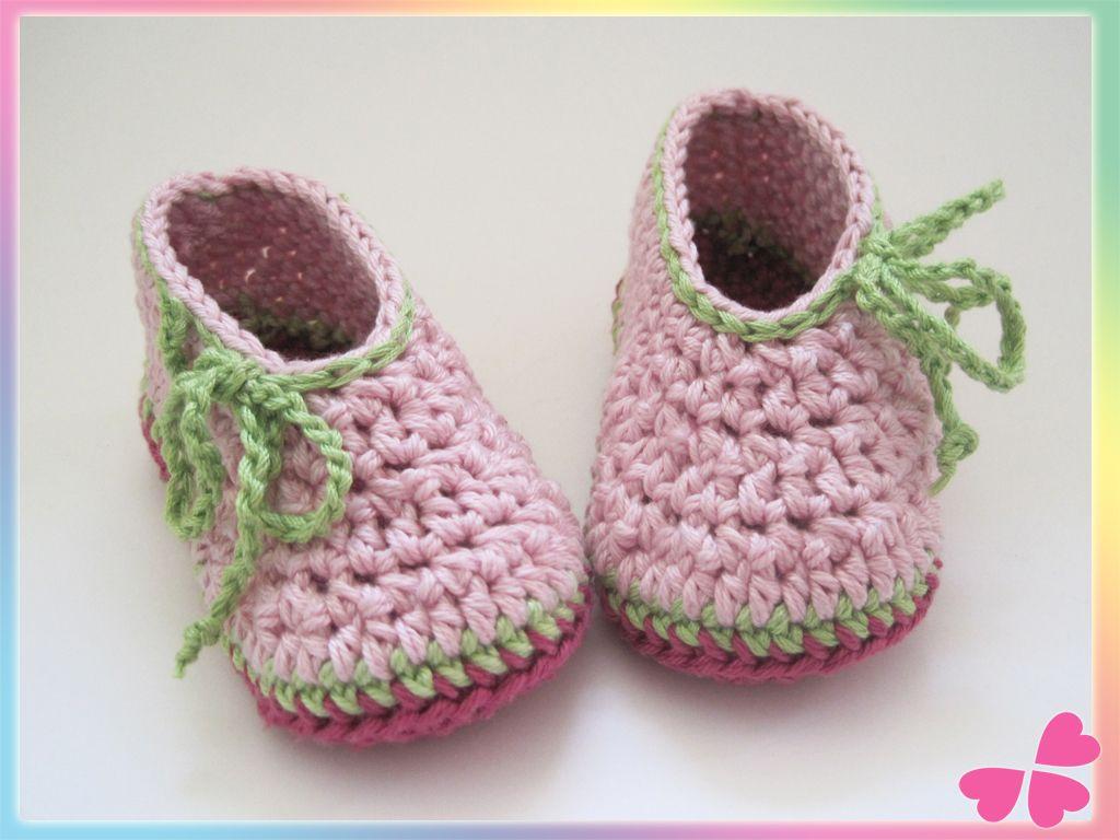 Häkelanleitung Für Babyschuhe Babyschuhe Baby Schuhe Häkeln