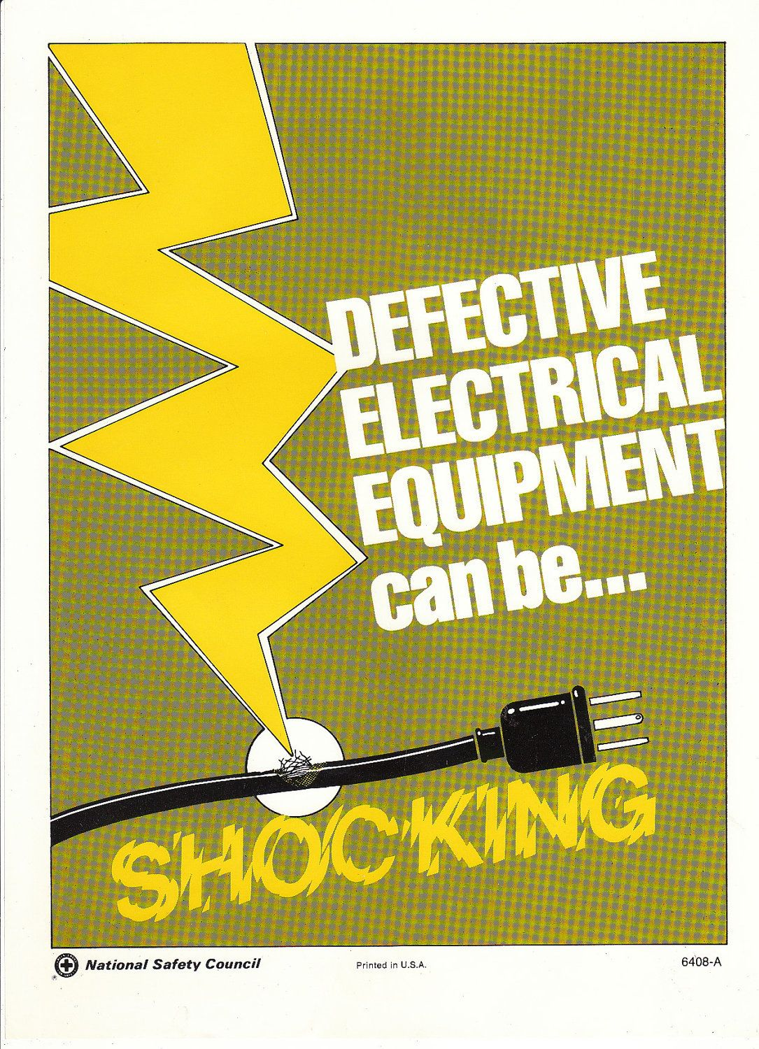 NSC Defective Electrical Equipment National safety
