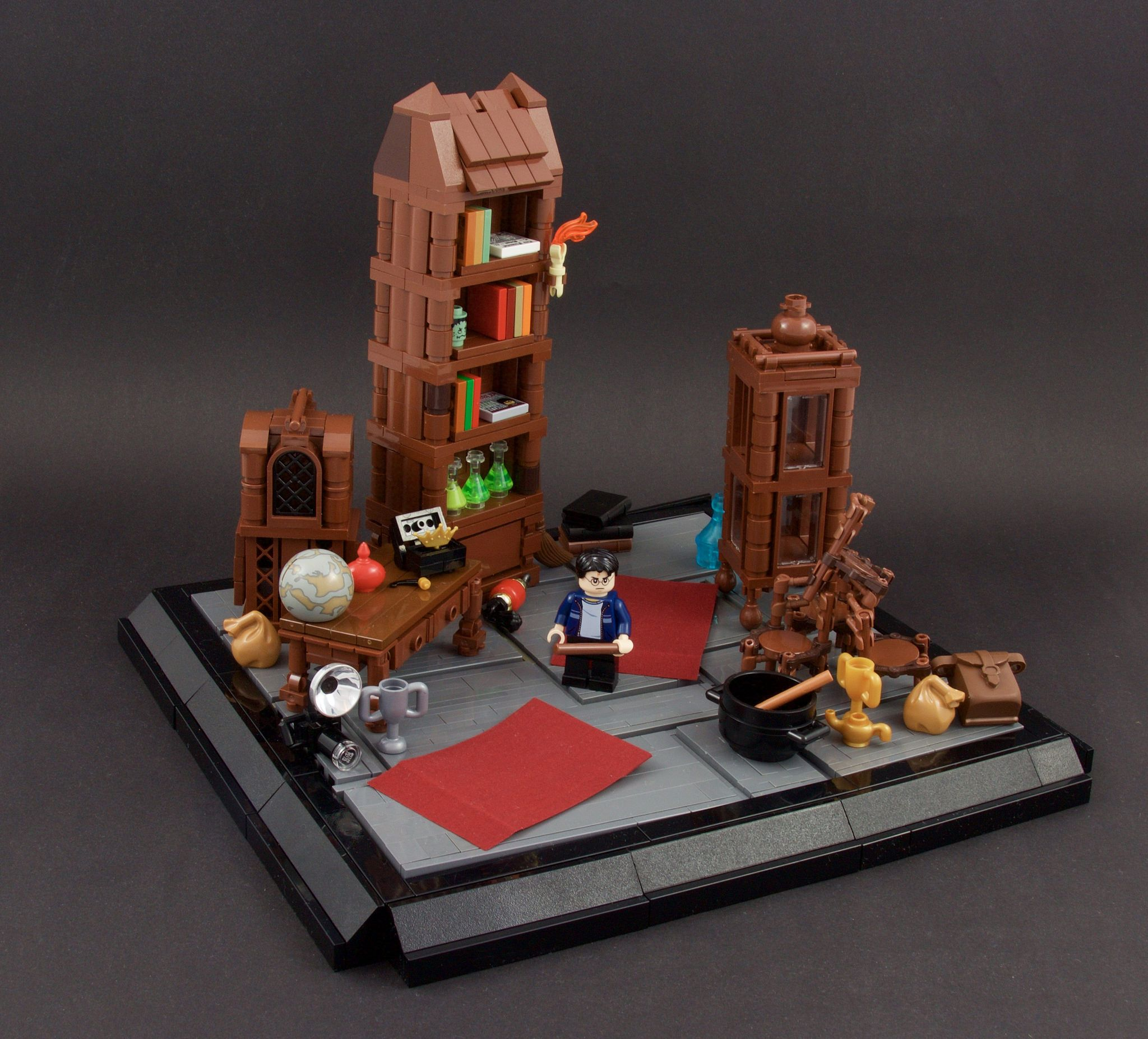 Harry Potter Room Of Requirement Lego Harry Potter Moc Harry Potter Lego Sets Lego Hogwarts