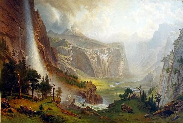 The Domes Of The Yosemite  Albert Bierstadt