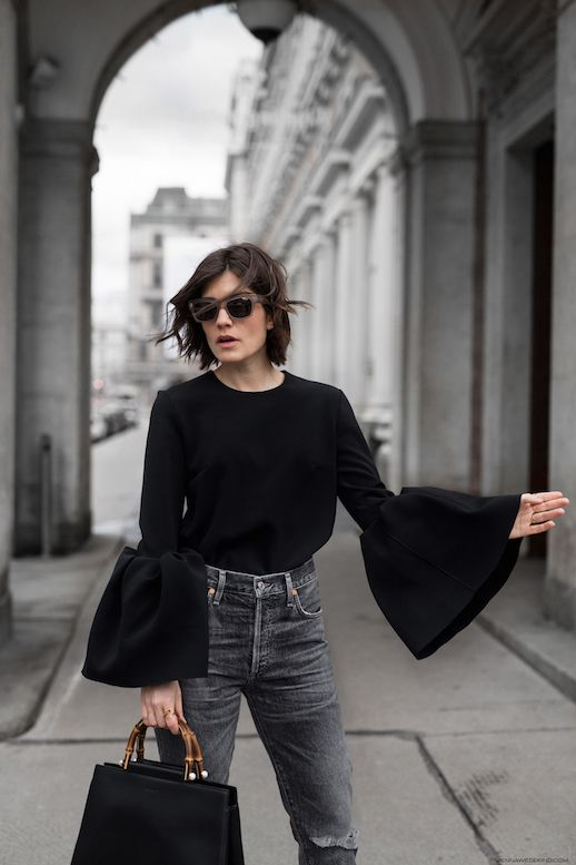A Statement Sleeves Look To Try Now