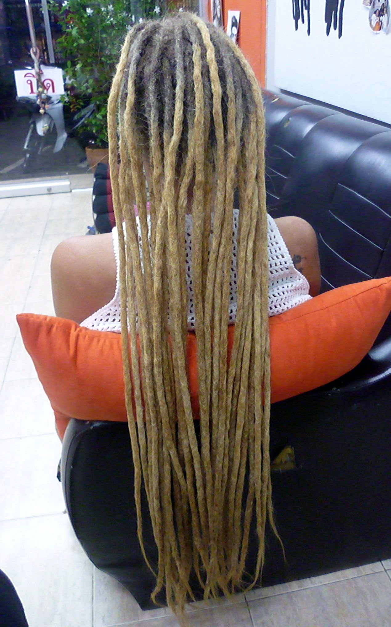 Dreadlock Human Real Hair Extension Real Hair Extensions