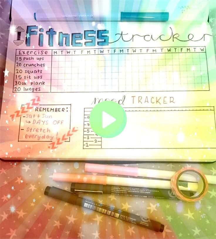 #spreadsif #weeklyif #exercise #tracking #trackers #journal #fitness #include #looking #monthly #spr...