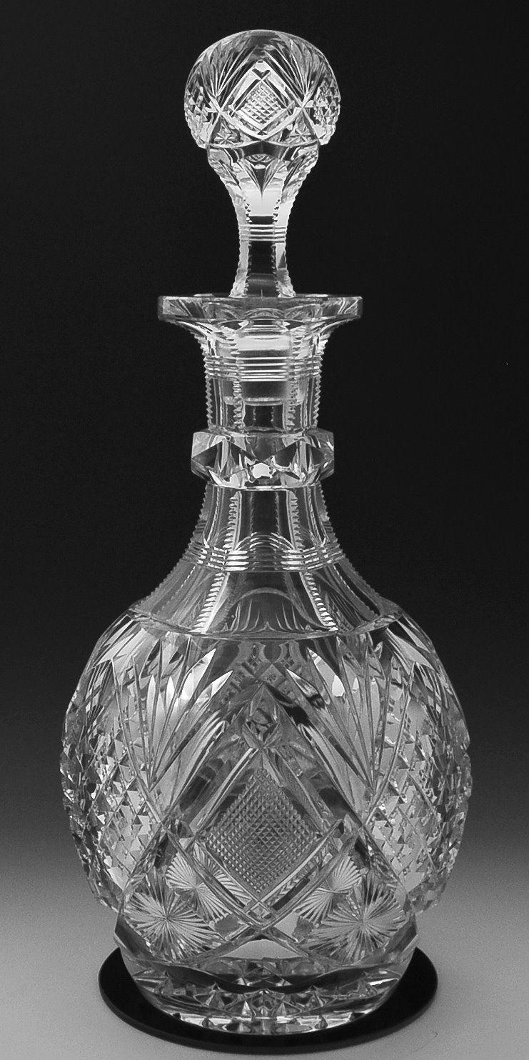 Libbey Harvard Decanter Fsg7155 Image Crystal Glassware Crystal Decanter Lalique Crystal