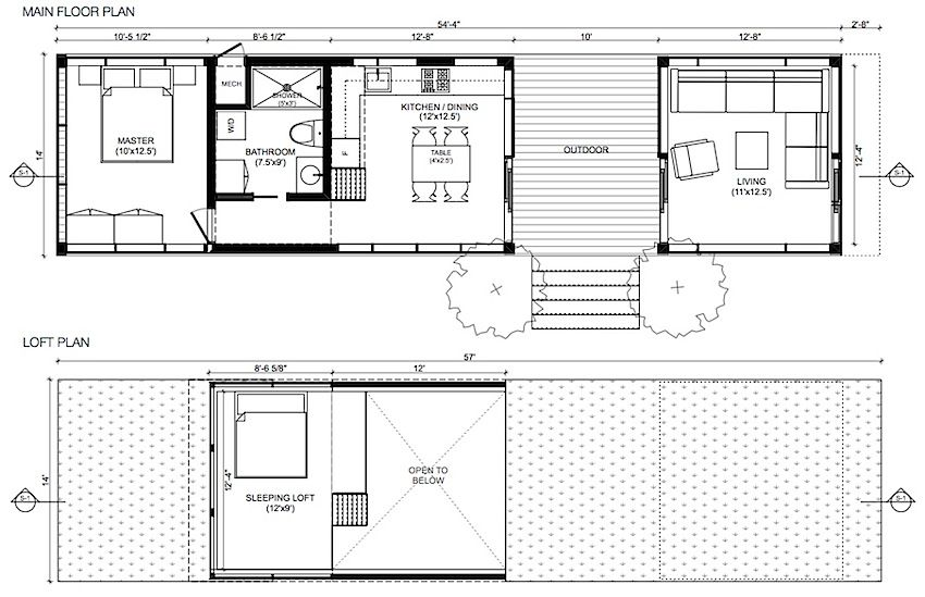 Sustain Design Studio Creator Of The Original And Enormously Popular Minihome Recently Announced A New Small House Design Tiny House Plans House Layout Plans