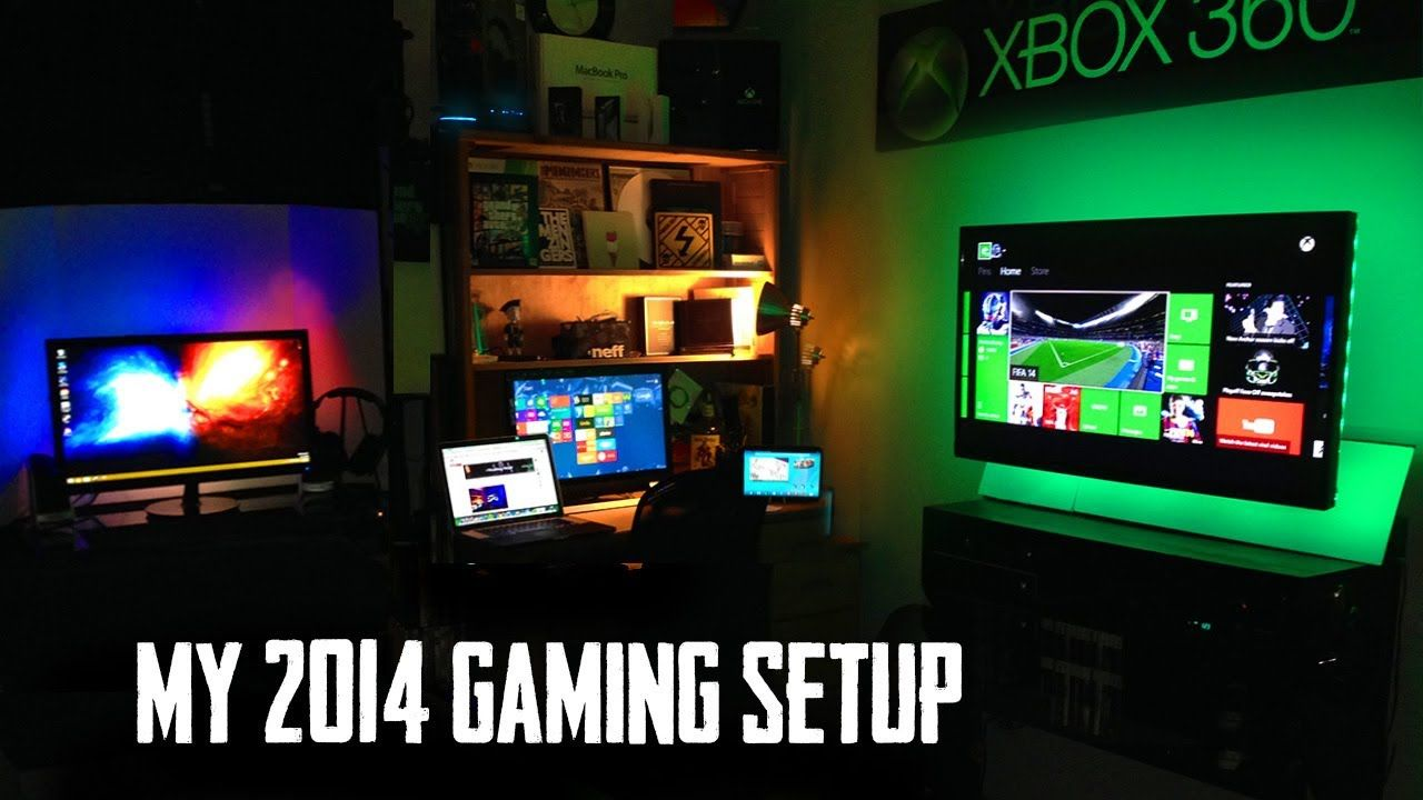 Love The Xbox Setup From My ULTIMATE Gaming Setup Room Tour 2014 Nerd