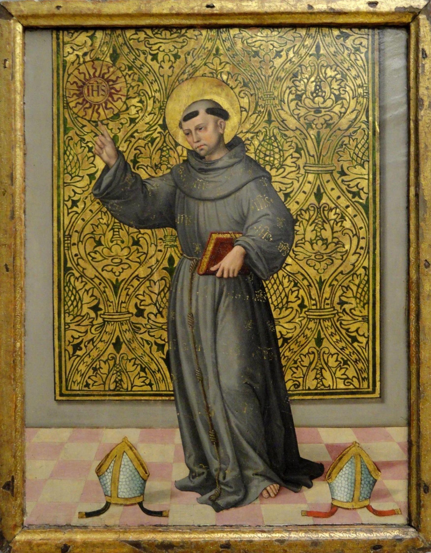 San Bernardino de Siena   Sain...