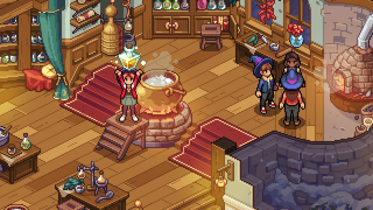 Harry Potter Meets Stardew Rpg Witchbrook Summons A New Look And It S Gorgeous Pixel Art Cartoon Faces Art Reference Photos