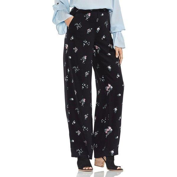 Quality Free Shipping For Sale Vince Camuto Bouquet-Print Wide-Leg Pants Websites Sale Online Discount Comfortable nAP06Fb