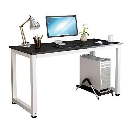 Superior Gootrades Computer Table,47u0027u0027 Sturdy Office Desk Study Writing Desk,Modern  Simple Style PC Workstation Table For Home Office,Black