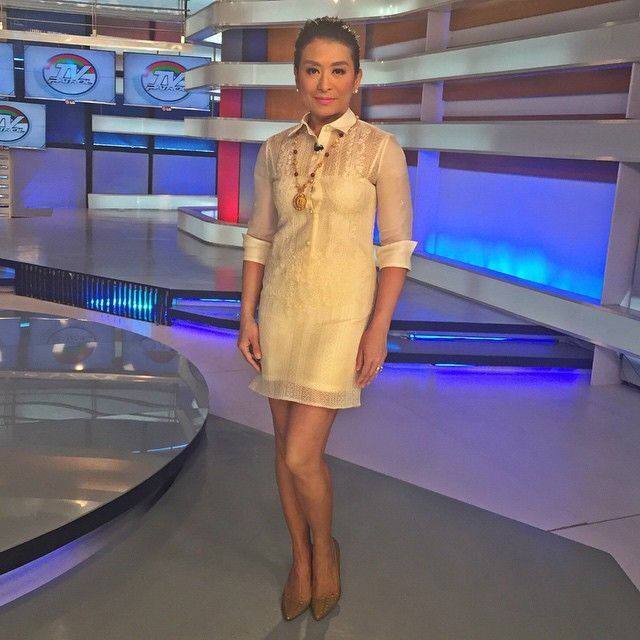 Loving This Contemporary Barong Dress From Nuevoystilo -9020