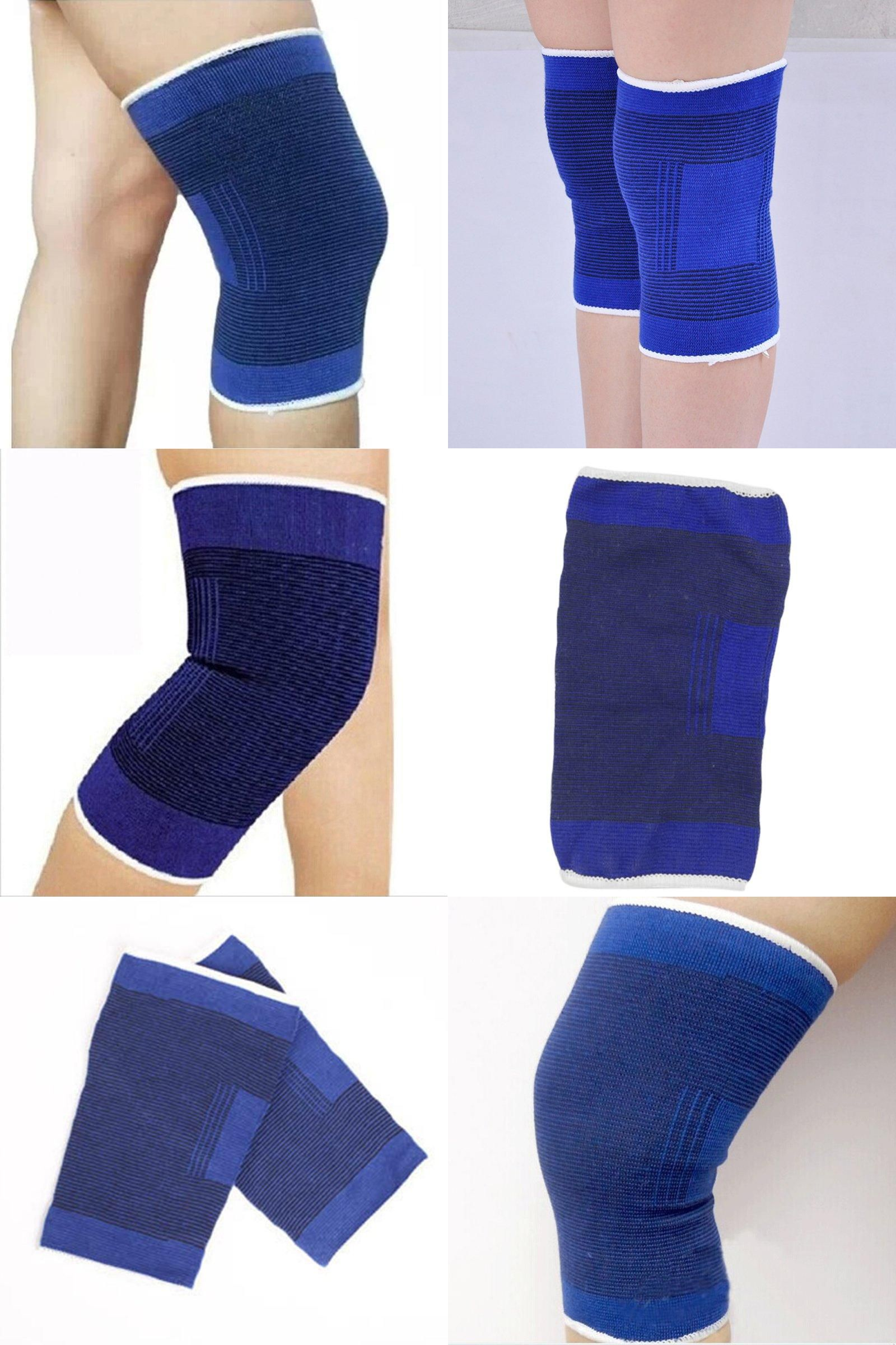 Visit To Buy Sports Safety Knee Brace Pads Volleyball Dance Joints Muscles Support Elastic Elbow Guard Protector Kneepads Sports Safety Knee Brace Supportive