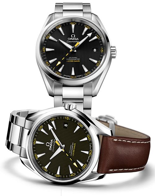 An Impressive Legacy of Horological Innovation OMEGA Seamaster Aqua Terra > 15'000 gauss (See more at: http://watchmobile7.com/articles/omega-seamaster-aqua-terra-15-000-gauss) (4/5) #watches #omega #omegawatches @Omega Hedgepeth Watches @Omega Hedgepeth Watches