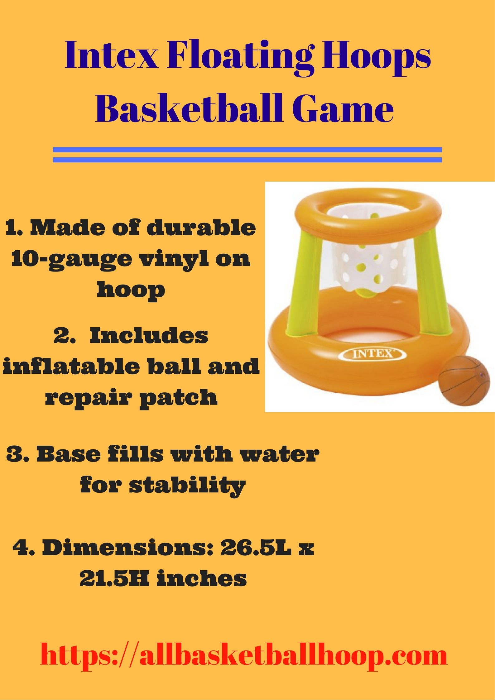intex floating hoops basketball game is best seller amazon pool