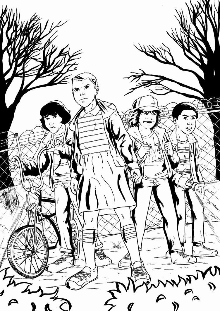 Stranger Things Coloring Book Luxury Penciler And Inker Zwol Coloring Pages Sailor Moon Coloring Pages Coloring Books