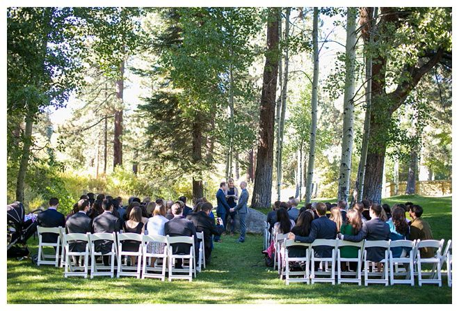 Aspen Grove Wedding Ceremony Incline Village North Lake Tahoe Photo By Bcondoral