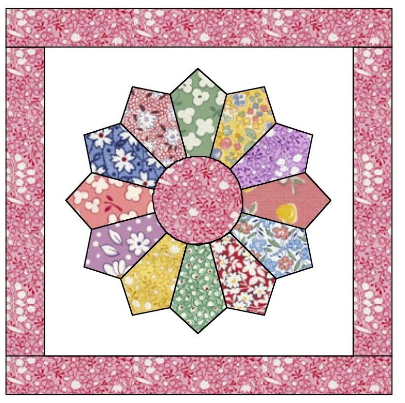 Free Dresden Plate Quilt Pattern Apple Avenue Quilts Free