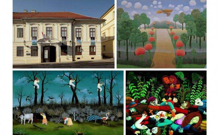 The Croatian Museum Of Naive Art Zagreb Croatia Museums And Galleries Culture New Experience Cultural Events Travel Tips Naive Art Gallery Museum