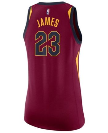 new products fde6b 99cbe Nike Women LeBron James Cleveland Cavaliers Swingman Jersey ...