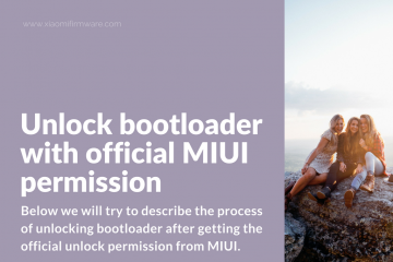 How to unlock bootloader on Xiaomi smartphone after