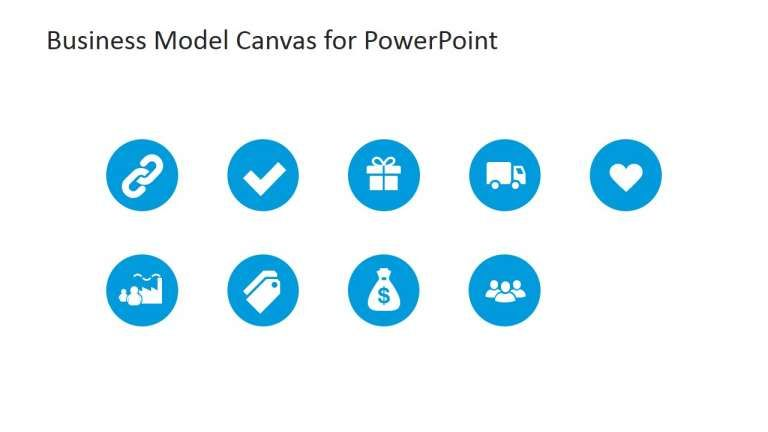 15 Business Model Canvas Icons