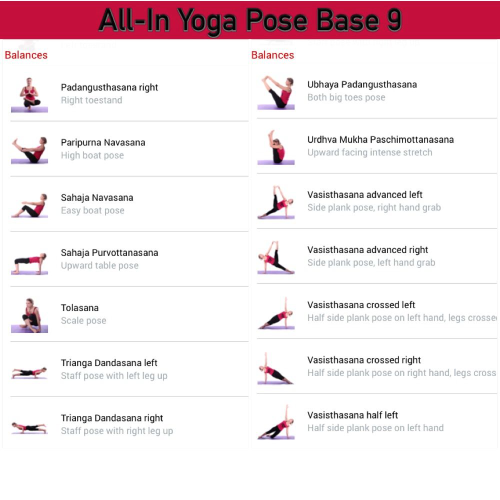 All In Yoga Pose Base Page 9