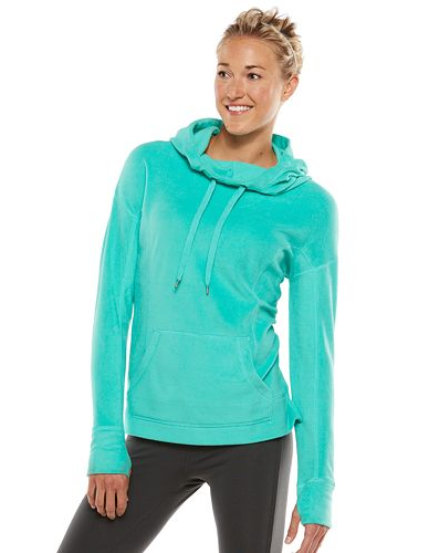 e4ea94711ca Kohls.com has the Ladies  Tek Gear® Microfleece Cowlneck Hoodie on sale for   9.99. Use coupon code CYBER20 to get  2 off