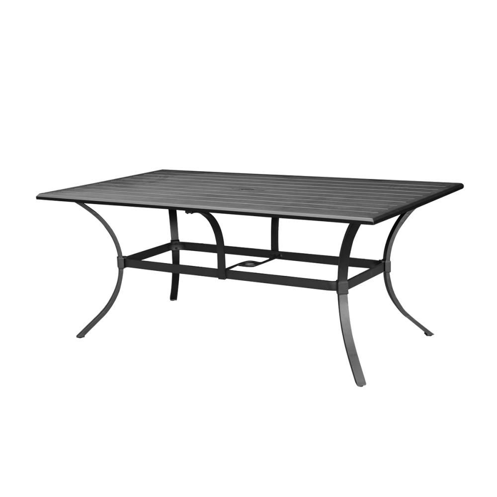 Lowes 400 70 Allen Roth Earl Crest Rectangular Dining Table