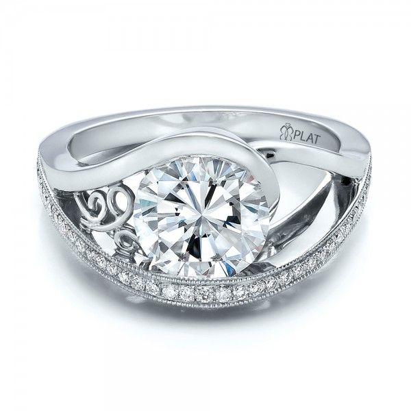 custom diamond engagement ring - Custom Wedding Ring