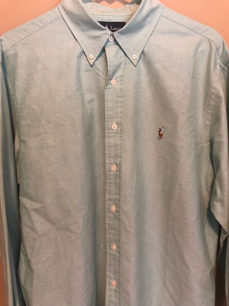 2510ad84 Ralph Lauren Mens Dress Shirt Size 17 32/33 Button Down L/S #fashion # clothing #shoes #accessories #mensclothing #shirts (ebay link)