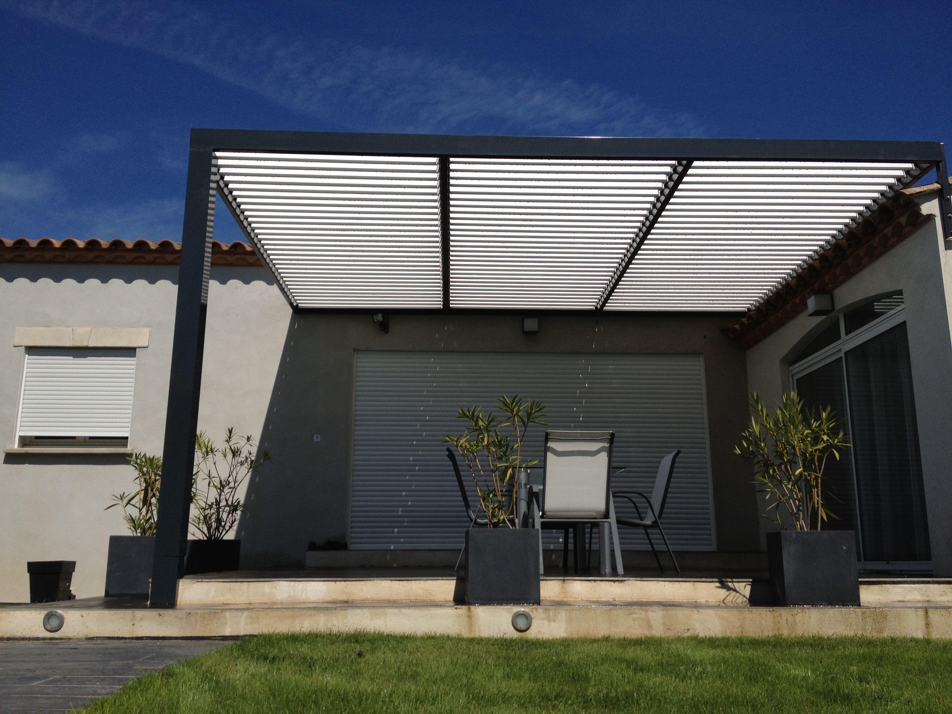 Pergola bioclimatique recherche google terrasse et ext rieurs pinterest - Pergola bio climatique ...