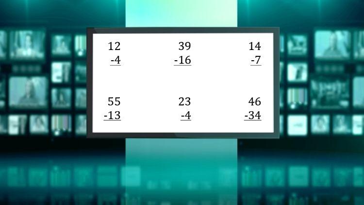 subtraction worksheets, 3rd grade math worksheets, maths worksheet ...