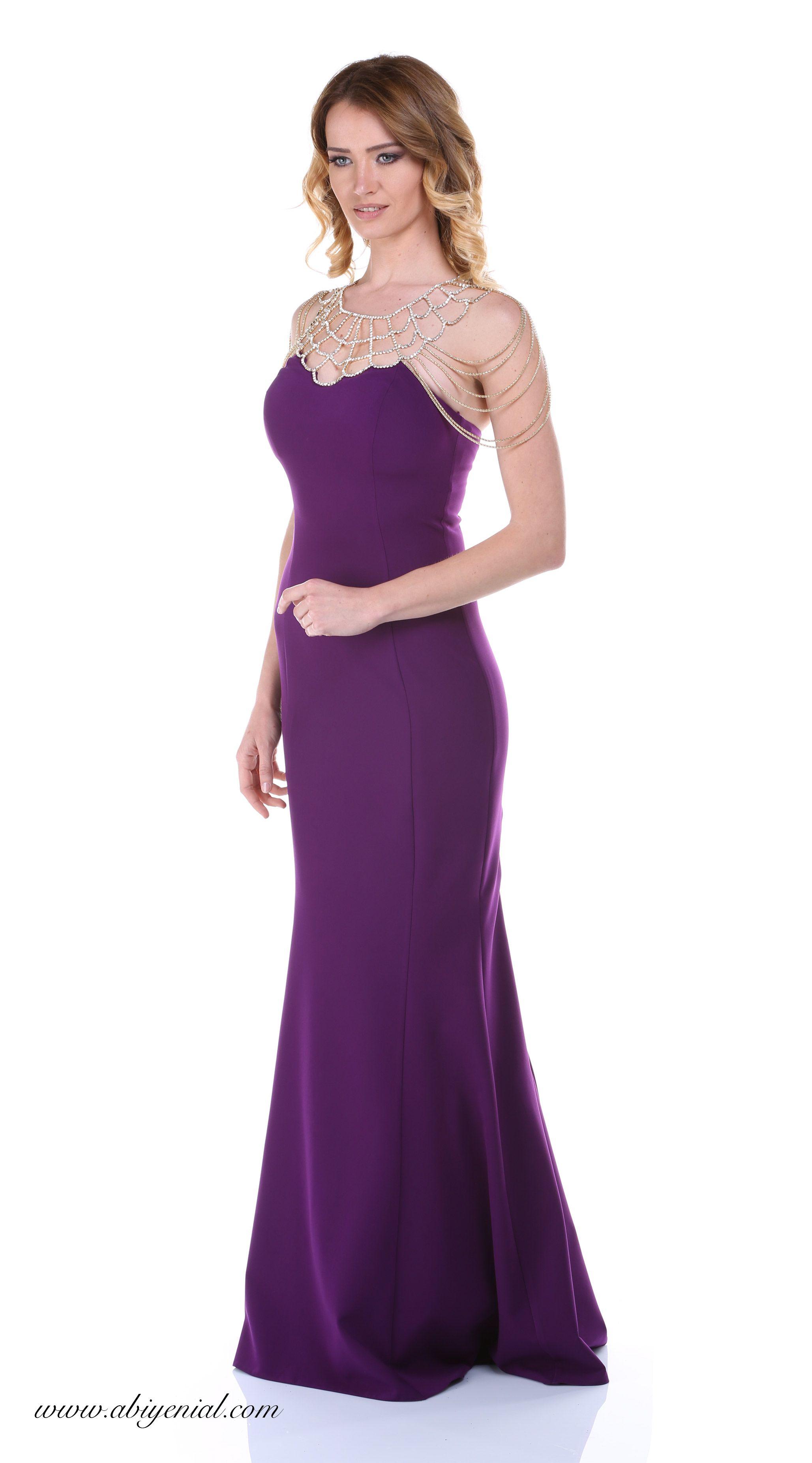 01ec0efb437f6 Abiye Elbise Menekşe | güzel elbiseler | Elbiseler