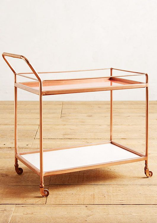 delaney bar cart from anthropologie / sfgirlbybay