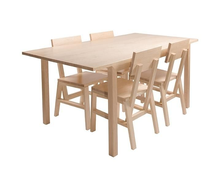 maple wood table and chairs | Furniture | Pinterest | Arce, Sillas y ...