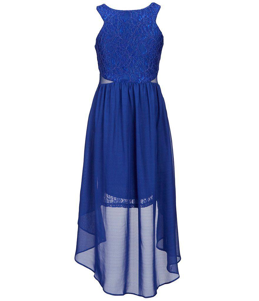 Shop for tween diva big girls lace hilow dress at dillards