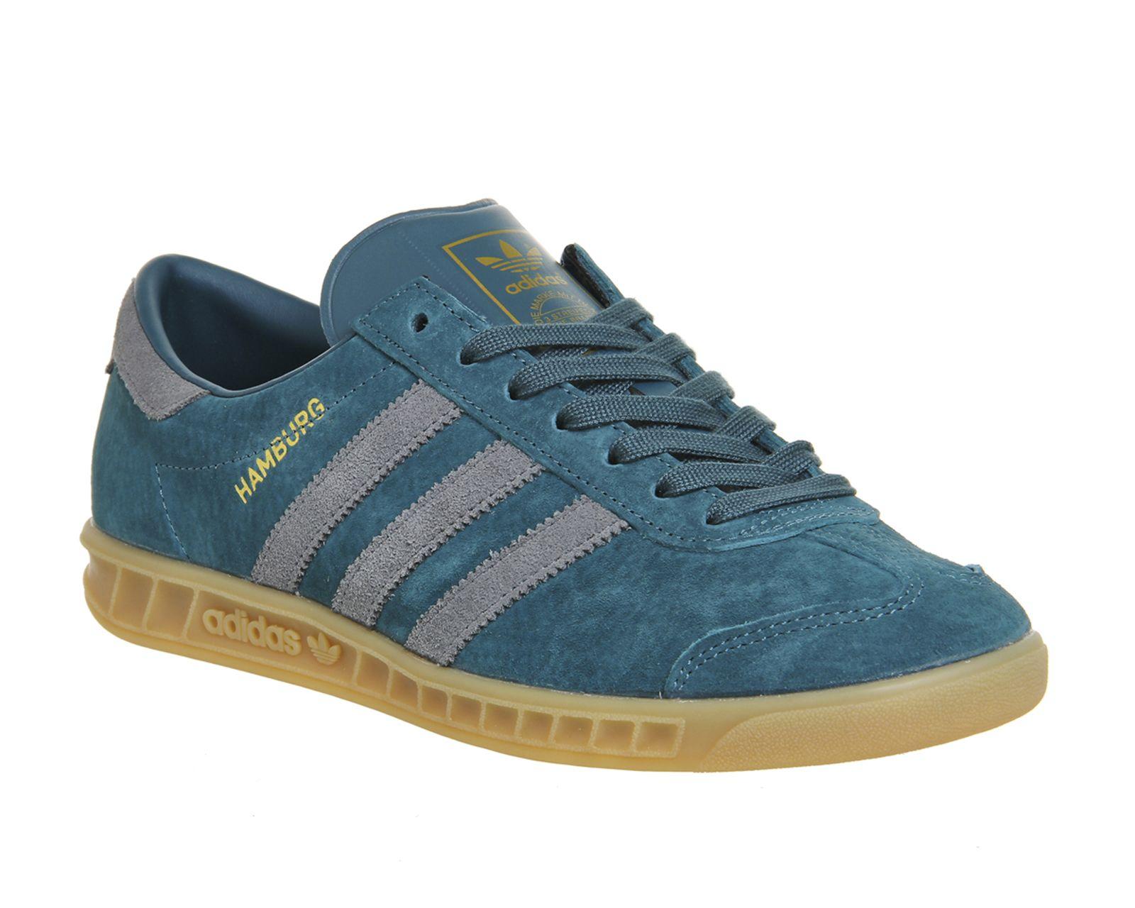 Adidas Hamburg Viridian Vista Grey Gum Exclusive - His trainers ...