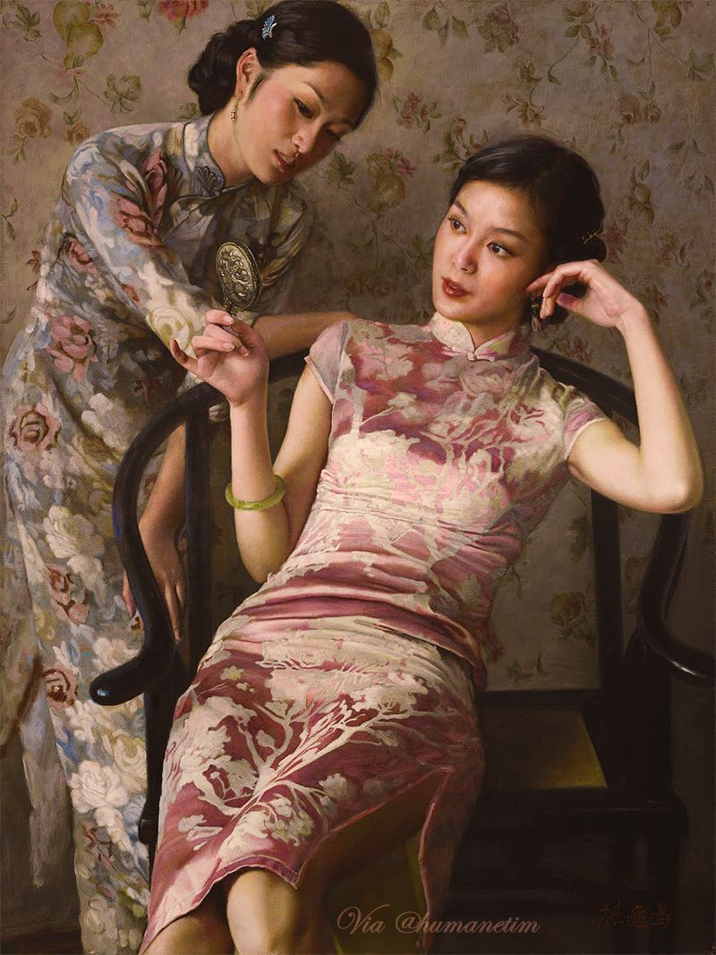 Vintage Maidens by Chen Yiming