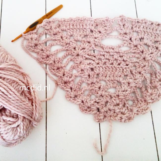 Bekend Omslagdoek haken (Creachick)   Crochet, Shawl and Crochet shawl NS81