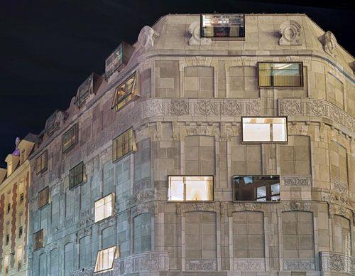 French Architect hotel fouquet barrière / edouard françois | architecture and facades