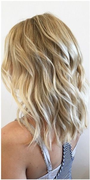 Medium Blonde Hairstyles 20 fantastic easy medium haircuts 2017 shoulder length hairstyles for women Haircuts Beachy Blonde Highlights